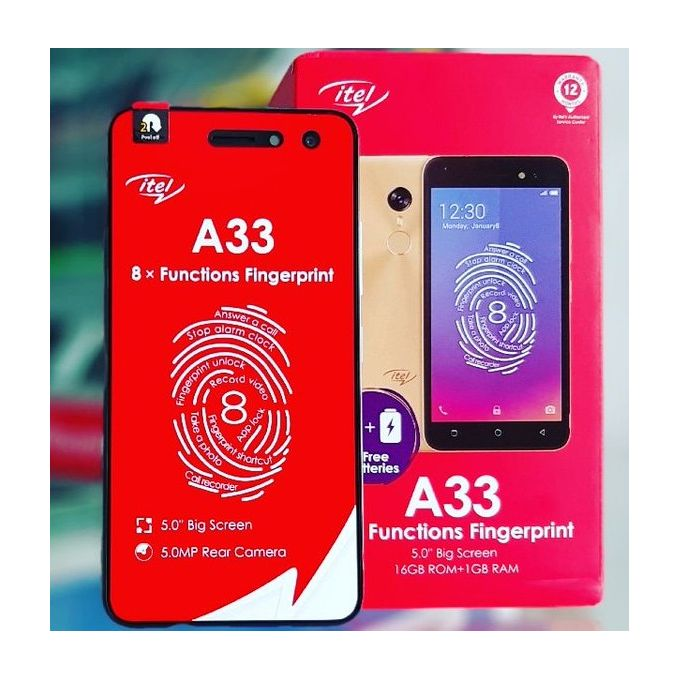Itel A33 specs and review